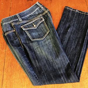 """EUC. INC Denim Jeans.12 Boot-Regular 34"""" Waist"""